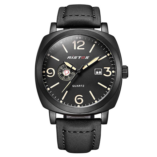 Simulated Leather Strap Sports Men's Watches