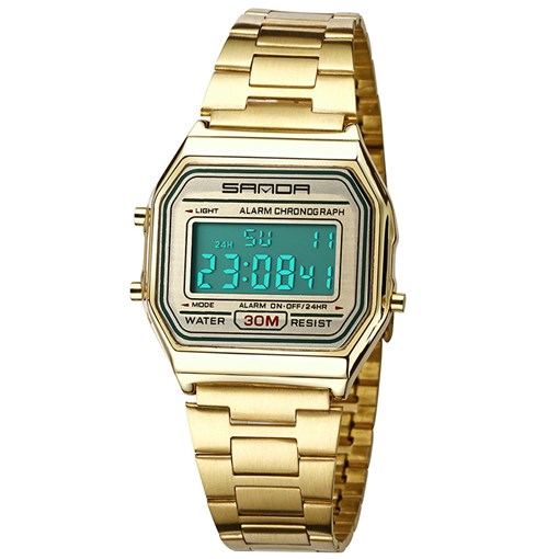Time Calendar Display Stainless Steel Men's Watches