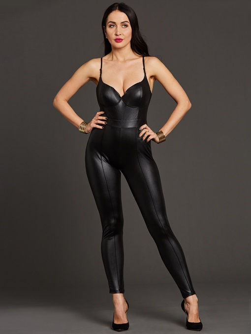 Tight Gallus Sexy Backless Women's Jumpsuits