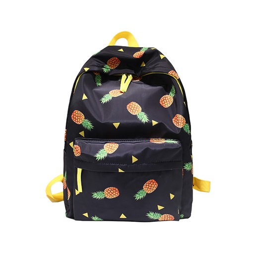 Casual Colorful Prints Nylon Zipper Backpack