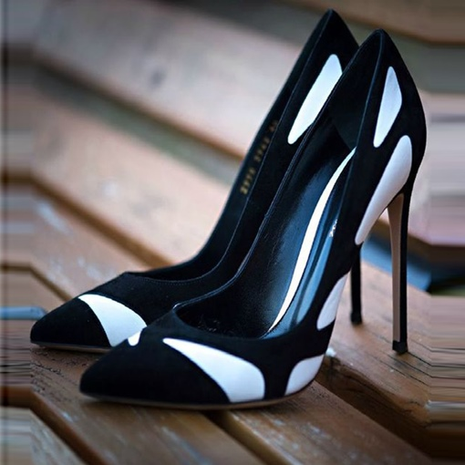 Contract Color Ultra High Heel Women's Pumps