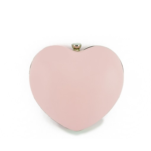 Korean Style Heart-Shaped Candy Color Clutch