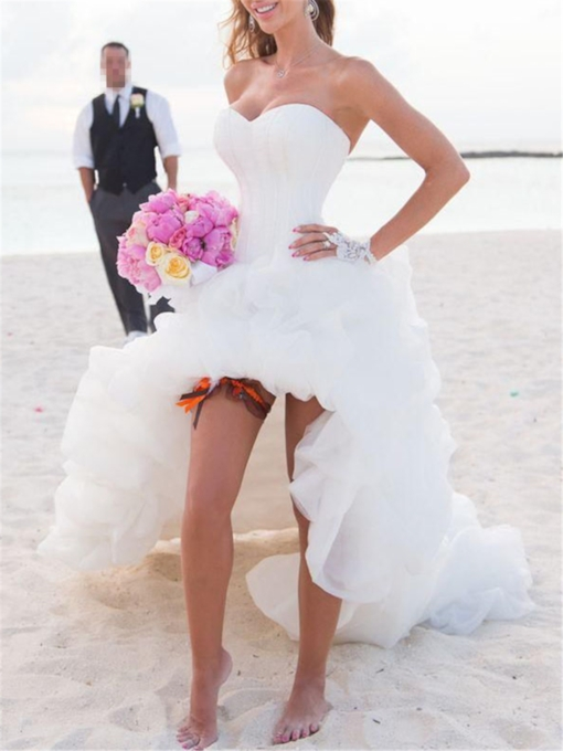 Beach Wedding Dresses Cheap Casual Simple Beach Wedding Dresses