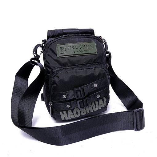 Casual Nylon Zipper Men's Bag