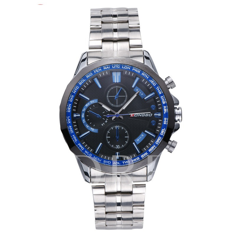 Three Eye Table Luminous Men's Watches