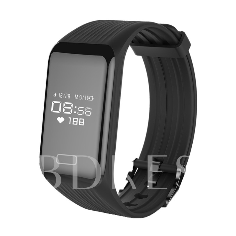 K1 Fitness Tracker Waterproof with Dynamic Heart Rate Monitor for Apple Android Phones