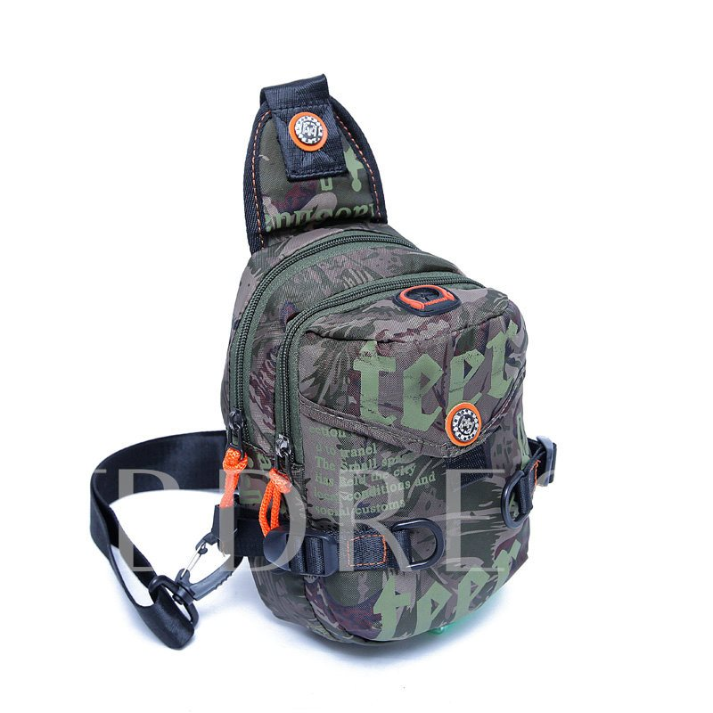 Casual Camouflage Design Men's Bag