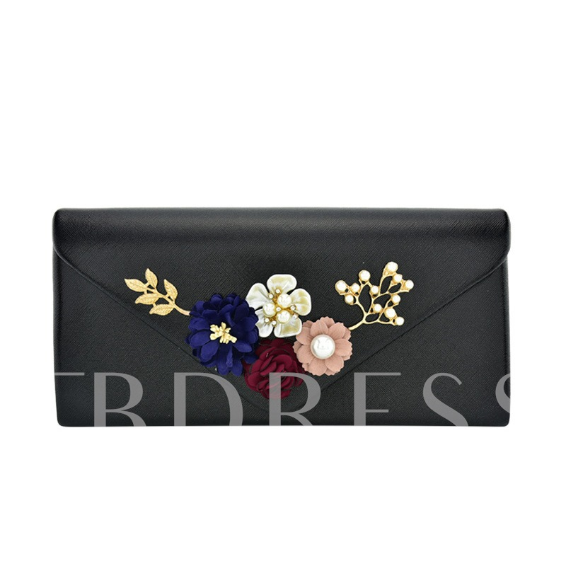 Floral Decoration Women Wallet