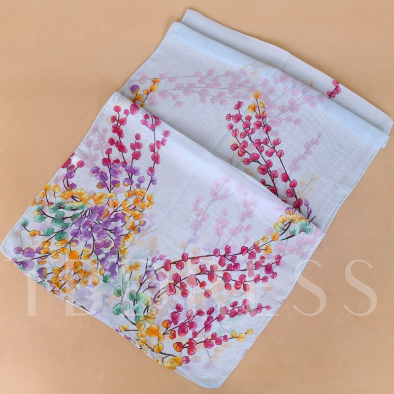 Colorful Printing New Style Scarfs