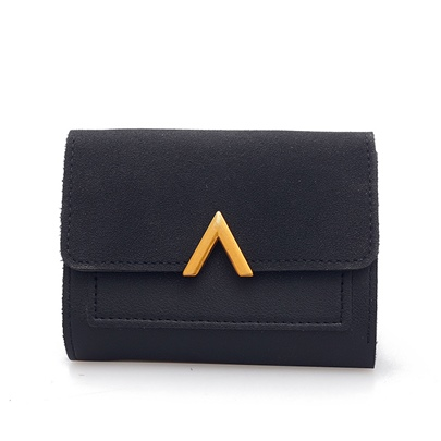 Concise Short Type Women Purse