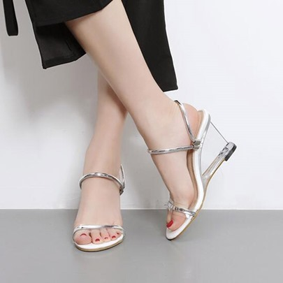 Strappy Dual Use Wedge Sandals for Women