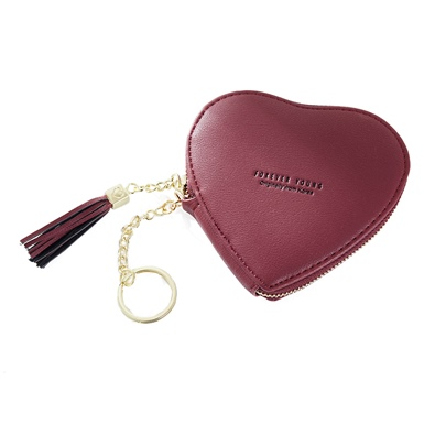 Korean Style Heart-Shaped Women Purse