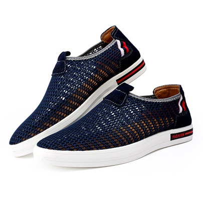Mesh Hollow Breathable Men's Summer Shoes