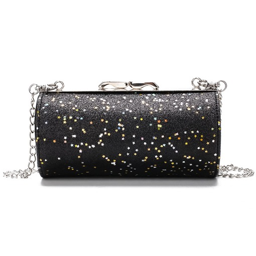 Trendy Sequins Chain Mini Cross Body Bag