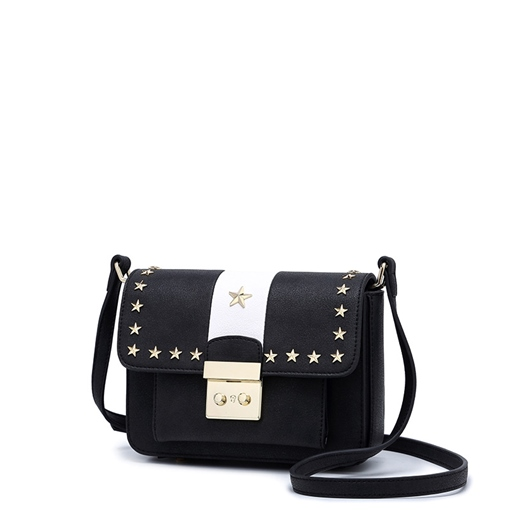 Delicate Star Rivet Decoration Cross Body Bag