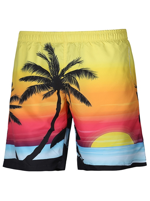 Beach Style Loose Men's Swim Shorts