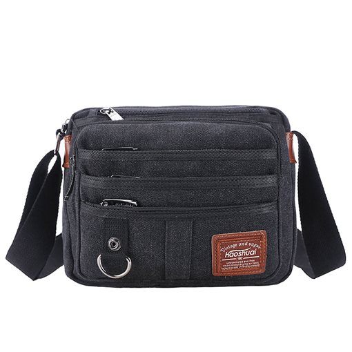Casual Plain Canvas Men's Bag