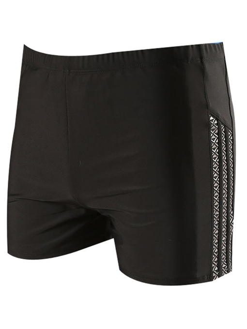 Plus-Size Quick Dry Slim Men's Swim Shorts