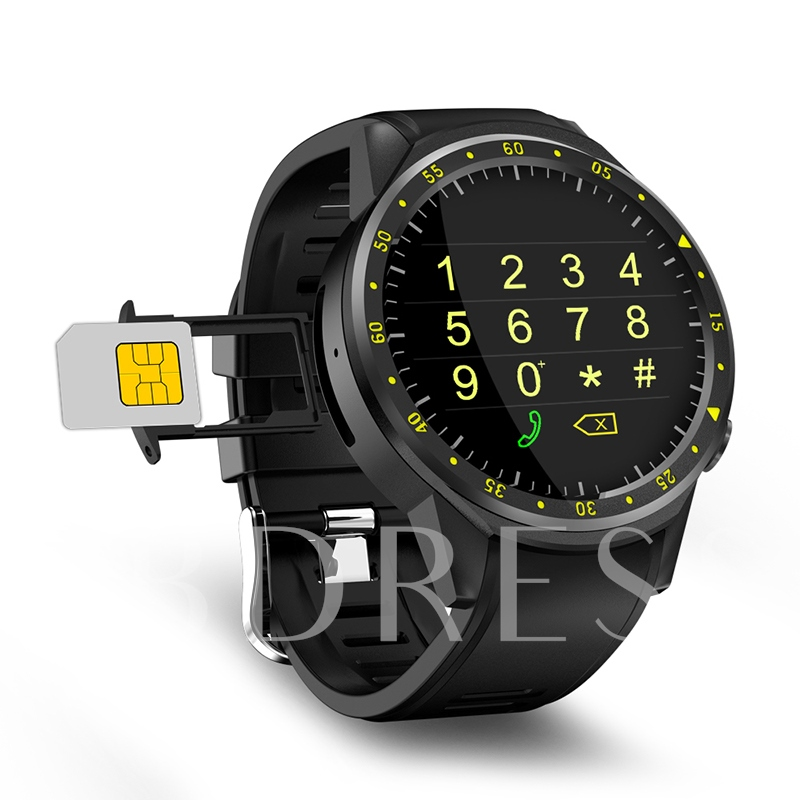 F1 Sports Smart Watch Waterproof with Camera/GPS/Compass/Heart Rate Monitor