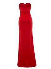 Strappy Split Bodycon Women's Maxi Dress