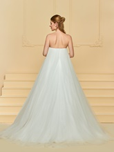 Strapless A-Line Wedding Dress