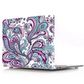 Color Floral Pattern Case Shell for Mac Pro/Air 13-inch