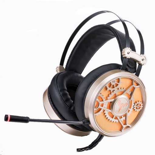 V6 Head-worn Wired Headset Gaming Computer Noise Cancelling Headphones