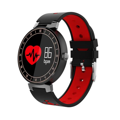 Color Band Smart Watch Fitness Tracker Waterproof for iPhone Android Phones
