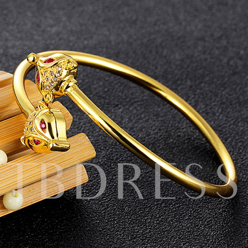 Smooth Fox Overgild Alloy Bracelet