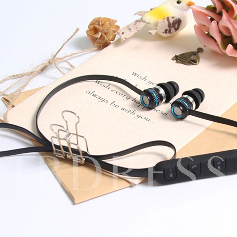 Wireless Headphone with Microphone,Magnetic Headset for iPhone Android