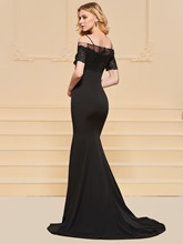 Mermaid Spaghetti Straps Long Evening Dress