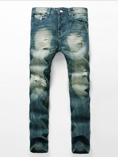 Men's Trousers with Denim