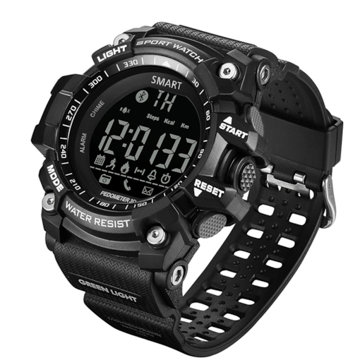 GIMTO GM308 Outdoor Sports Bluetooth Photo Electronic Smart Watch Waterproof Timer Call Reminder