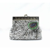 Retro Peacock Pattern Women Clutch