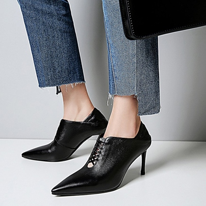 Pointed Toe High Heel Dual-use Shoes for Women