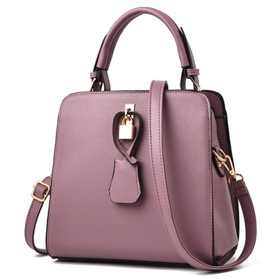 Dressy Solid Color Women Tote Bag