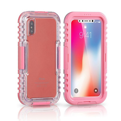Waterproof iPhone X/8/8plus Case Touch Screen for Swimming/Surfing/Diving