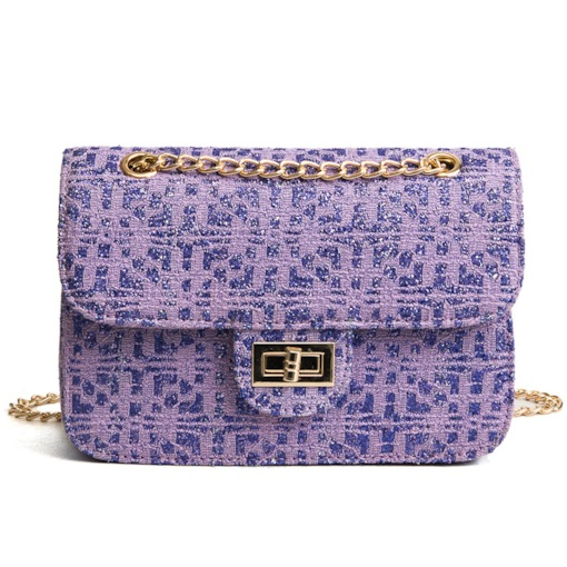 Trendy Thread Chain Oxford Cross Body Bag