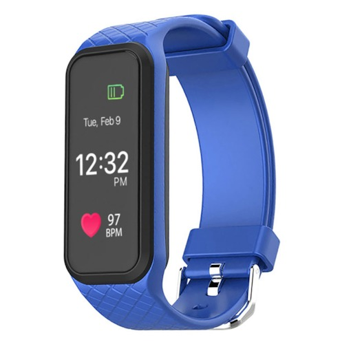 Colorful Screen Fitness Tracker Waterproof with Blood Pressure Monitor