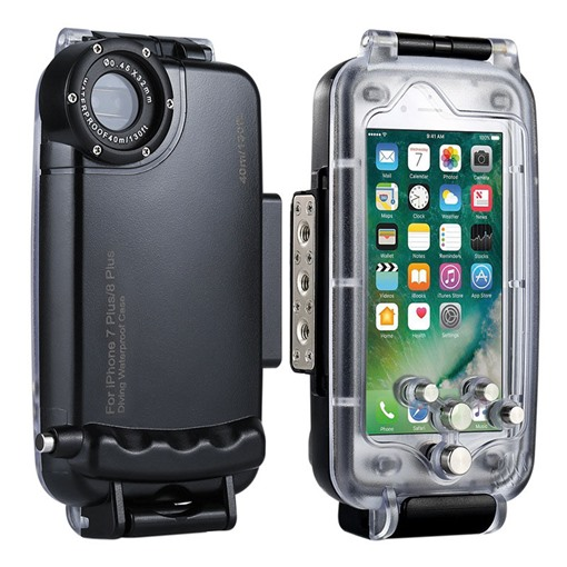 Waterproof iPhone 8/8plus/7/7plus/6 Case for Swimming/Diving/Surfing