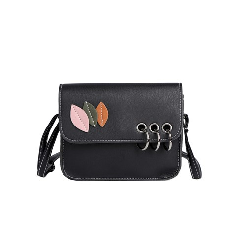 Simple Leaf Pattern Cross Body Bag
