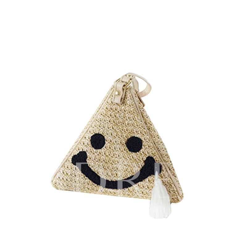 Cartoon Pattern Knitted Women Clutch