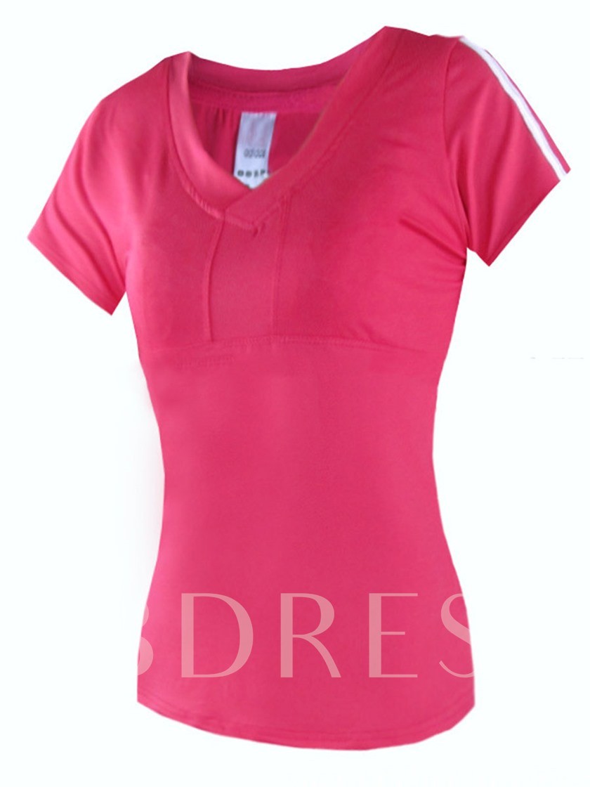 Workout Clothes Women's Casual T-Shirt In Short Sleeve