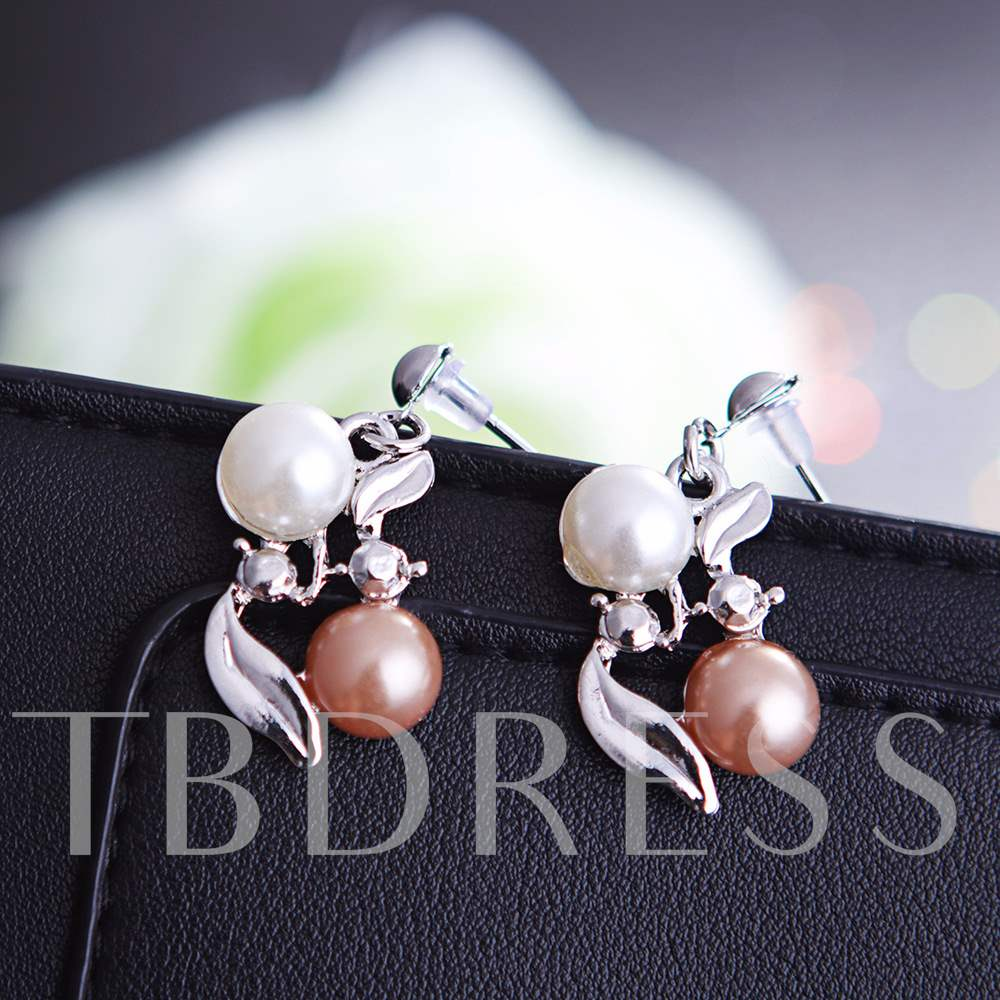 Artificial Pearl Sweet Jewelry Sets