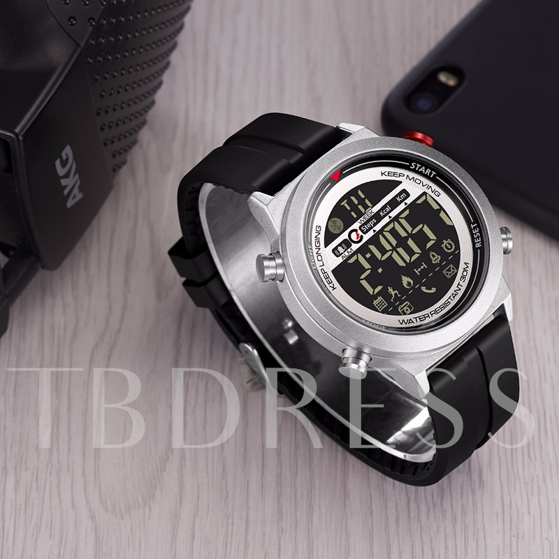 Waterproof Smart Watch Noctilucent Dial for iPhone Android Phones