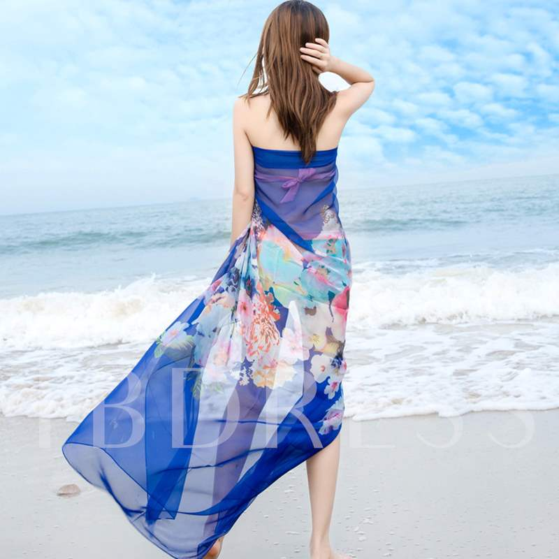 All-Match Chiffon Rural Style Beach Scarfs