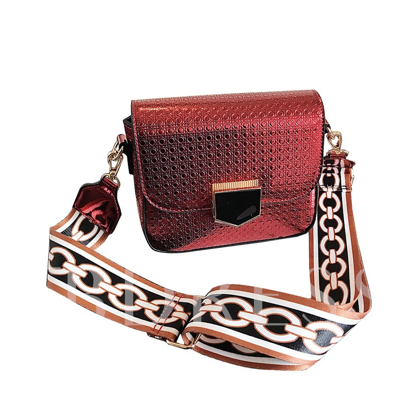 Casual Wide Strap Mini Shoulder Bag