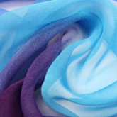 Gradient Color Thin Chiffon Scarfs