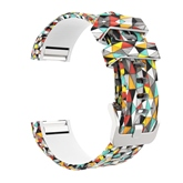 Floral Smart Watch Band ,Soft Silica Gel Strap for Fitbit Charge 2