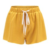 Soft Cotton Slim Fit Stretch Activewear Women's Casual Lounge Shorts